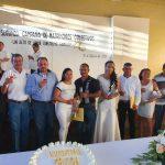 En el programa matrimonios colectivos se unen 8 parejas por lo civil