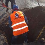 Personal de Comapal repara red principal de agua