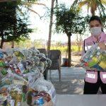 Entrega DIF Armería dotaciones alimentarias a beneficiarios de comedores comunitarios