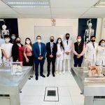 Visita UJM las facultades de medicina y odontología de la Universidad Michoacana de San Nicolás de Hidalgo.
