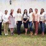 Indira Vizcaíno a las y los diez alcaldes: habrá trabajo coordinado por el bien de Colima